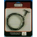 BLACK HANDLE PULL CABLE 3M LONG