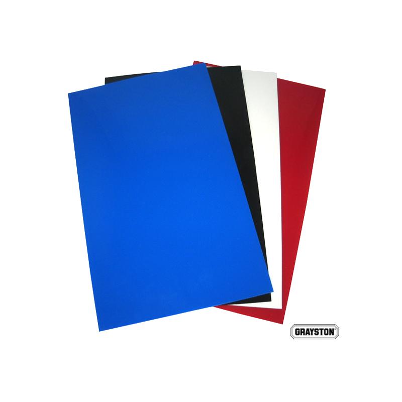 PAIR BLUE RALLY FLAPS    50CM X 30CM X 3mm