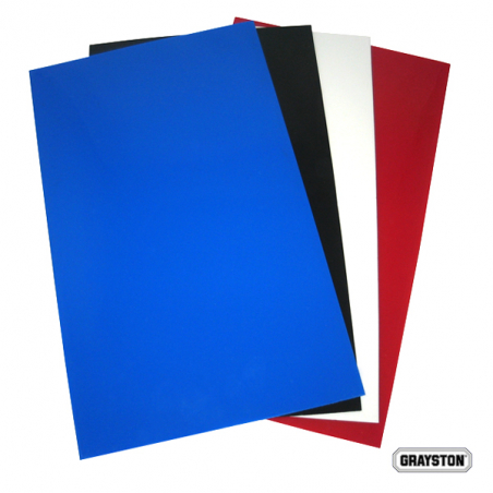 PAIR BLUE RALLY FLAPS    50CM X 30CM X 3mm
