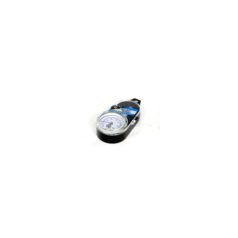 TYRE PRESSURE GAUGE ANGLED - 60 psi / 4 bar