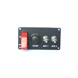 STARTER PANEL- PUSH BUTTON & 2 ACCESS.  SWITCHES - 30 amp CA