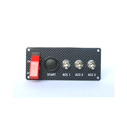 STARTER PANEL- PUSH BUTTON & 3 ACCESS.  SWITCHES - 30 amp CA