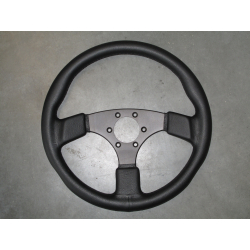 SPORT STEERING WHEEL LEATHER 36CMS