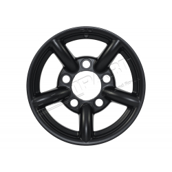 ZU WHEEL 16x7 BLACK MATT