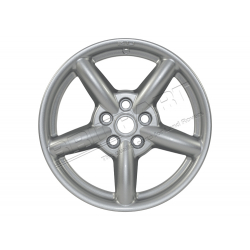 ZU WHEEL 18 X 8 SILVER & SPACER