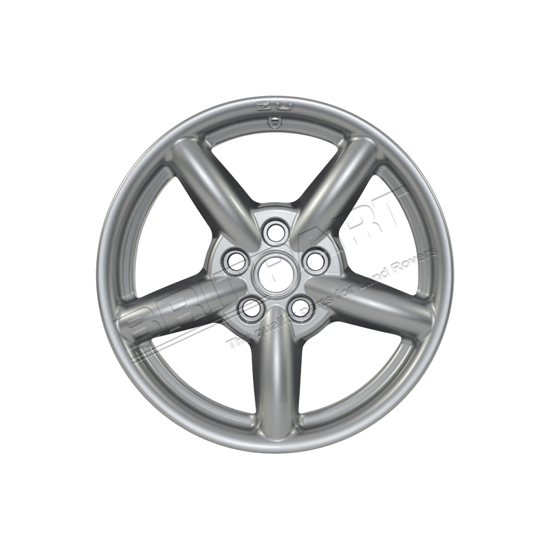 ZU WHEEL 18 X 8 HIGH POWER SILVER &