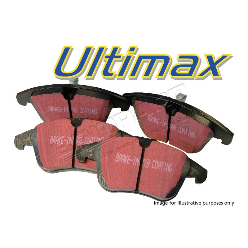 BRAKE PAD REAR ULTIMAX