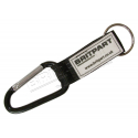 BRITPART KARABINER KEY RING