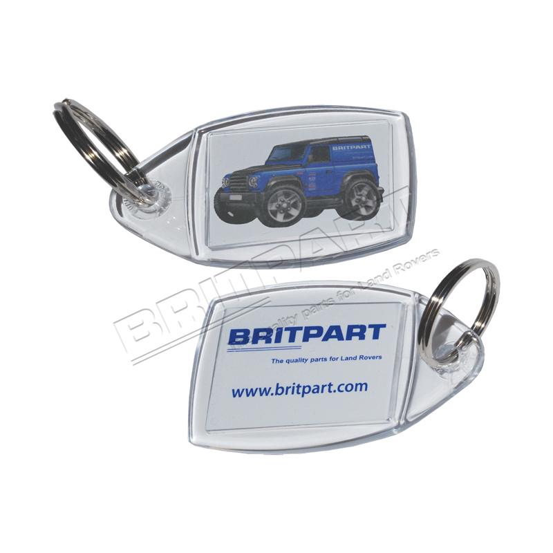 BRITPART KEY RING