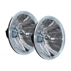 RHD CRYSTAL HALOGEN HLAMPS PAIR W/O
