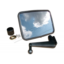 UNBREAKABLE MIRROR KIT FLAT SHORT AR