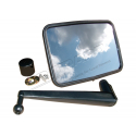UNBREAKABLE MIRROR KIT FLAT LONG ARM