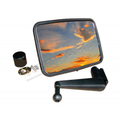 UNBREAKABLE MIRROR KIT CONVEX SHORT