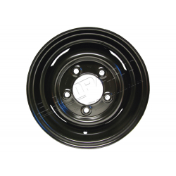 ROAD WHEEL (TUBED BLACK)