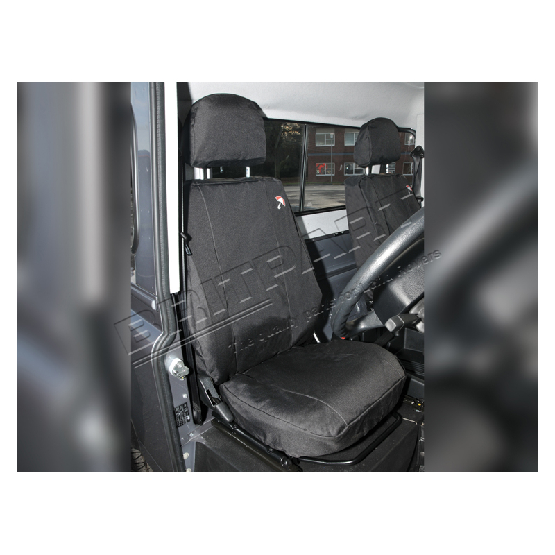PAIR OF WATERPROOF FRONT SEAT COVERS