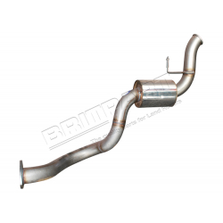 EXHAUST REAR SILENCER LR90 DEF TD5