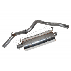 EXHAUST 90 DEFENDER 2.5TDI 97 ONWARD