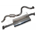 S/S EXHAUST SYSTEM 110 2.5 TD5 DEF