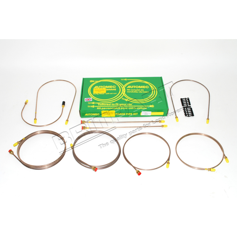 BRAKE PIPE SET DEFENDER (110) 1983-8