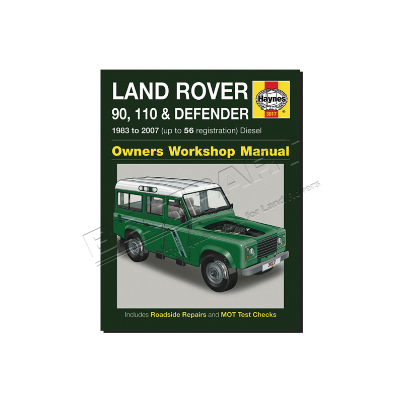 HAYNES REPAIR MANUAL DEF 83-07