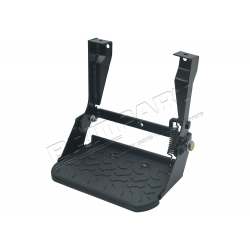 SIDE STEP FOLDING MUD TREAD