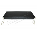 CUSHION BENCH BLACK VINYL