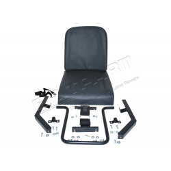 REAR INWARD FACING SEAT ASSY - GREY