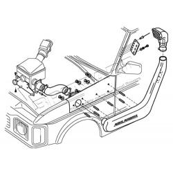 SNORKEL DISCO 300/V8 94-99 ABS