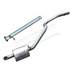 EXHAUST DISCO 2.5TDI 94 ON SPORTS