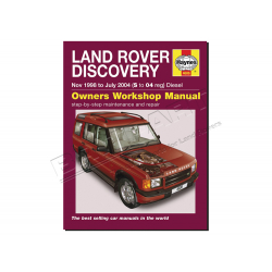 HAYNES MANUAL - DISCOVERY 98 - 04