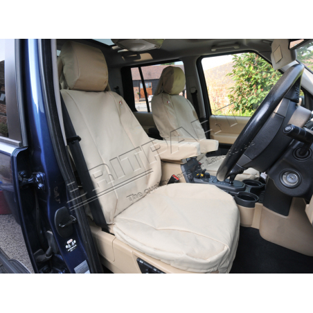 DISCO 3 FRONT SEAT-COVERS SAND