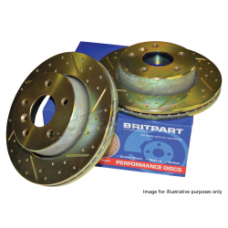 REAR BRAKE DISC (PAIR)