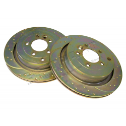 BRAKE DISC REAR (PAIR)