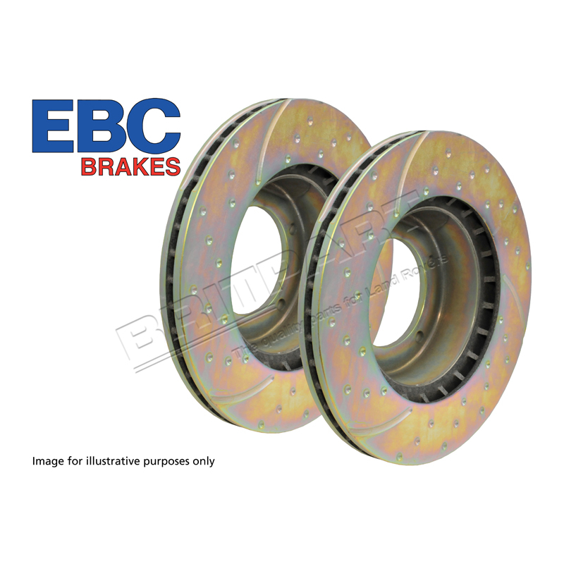 BRAKE DISC FRT VENTED (PAIR)