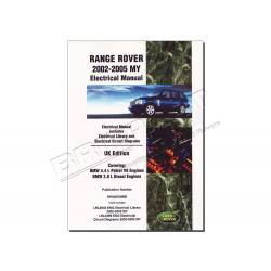 RR ELECTRICAL MANUAL 2002-2005 MY