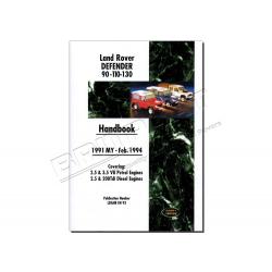 LROVER DEFENDER 91-94 HANDBOOK LRDF1