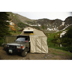 Xklusive  1400  ROOFTOP TENT. 1440 X 2440 X 1300 ADD ON ROOM