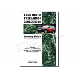 LAND ROVER FREELANDER WORK SHOP MANU