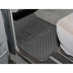 RUBBER MAT SET FRT DISCO TDI 1989-98