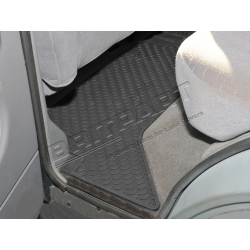 RUBBER MAT SET REAR DISCO TDI 1989-9