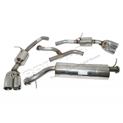 S/S SPORTS EXHAUST R/R 4.0/4.6 97-02