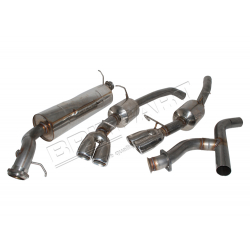 S/S SPORTS EXHAUST R/R  2.5TDI 97-02
