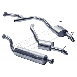 EXHAUST RR 2.5 BMW DIESEL TWIN SYSTE