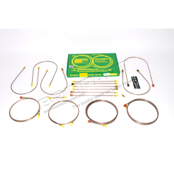 BRAKE PIPES R.ROVER w/RR VALVE FROM