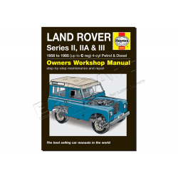 HAYNES WORKSHOP MAN SERIES II  IIA &