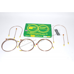 BRAKE PIPE SET SER 3 (88) 4+6 CYL SI