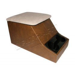 CUBBY BOX BROWN
