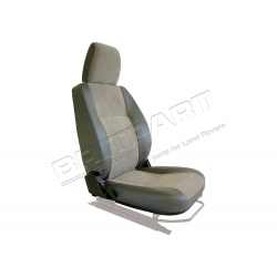 SEAT BASE BACK & HEADREST RH GREY