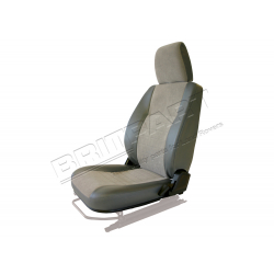 SEAT BASE BACK & HEADREST LH GREY