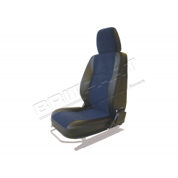 SEAT BASE BACK & HEADREST LH BLUE
